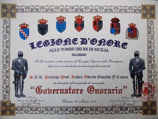 Légion d'honneur de la tombe du Roi de Sicile