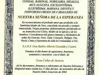 Ordre des Chevaliers de Notre-Dame de l'Espérance