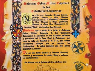 L'Ordre Militaire Espagnol des Templiers protecteurs de la Maison du Gévaudan