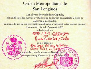 Ordre Métropolitain de Saint Longin