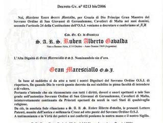 Ordre Souverain de Saint-Jean de Jérusalem, Chevaliers de Malte