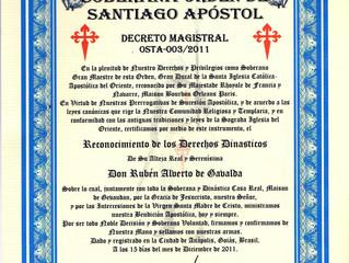 Reconnaissance de la Sainte Église Catholique Apostolique d'Orient