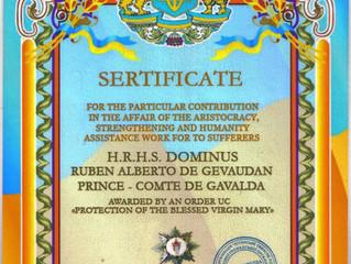 """Ordre """"Protection de la Vierge Marie"""""""