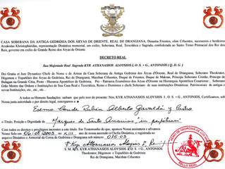 Désignation honorifique de la Couronne de Gedrosia et Drangiana
