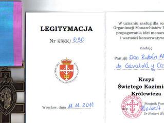 Le Prince: membre de l'Organisation Monarchique Polonaise