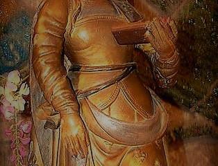 Sainte Énimie Princesse de la Famille Royale Mérovingienne