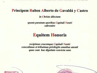 Equitem honoris in Capitulum Equitum Sancti Antonii Lisboniensis