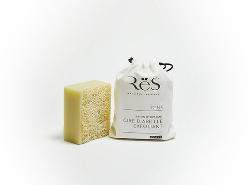 No. 164 Exfoliating Beeswax + Luffa Soap