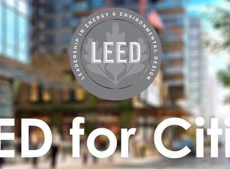 The growth and evolution of LEED for Cities and Communities