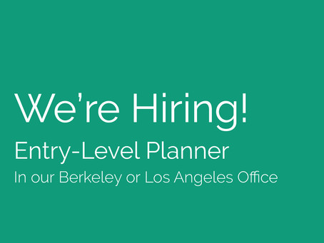 We're Hiring! Seeking a Planner to join our team!