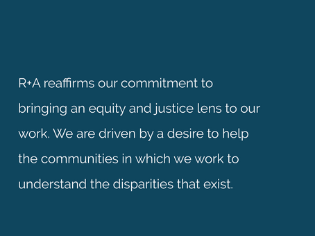 R+A Racial Equity and Justice Commitment Platform