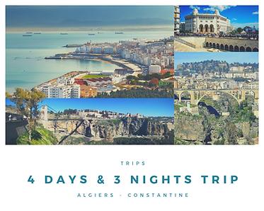 4 days & 3 night trip algeria