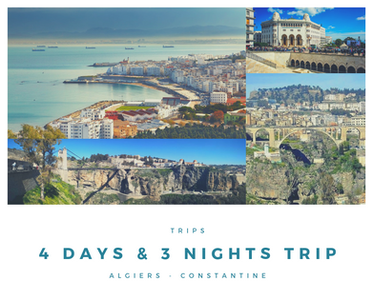 4 days & 3 night trip algeria