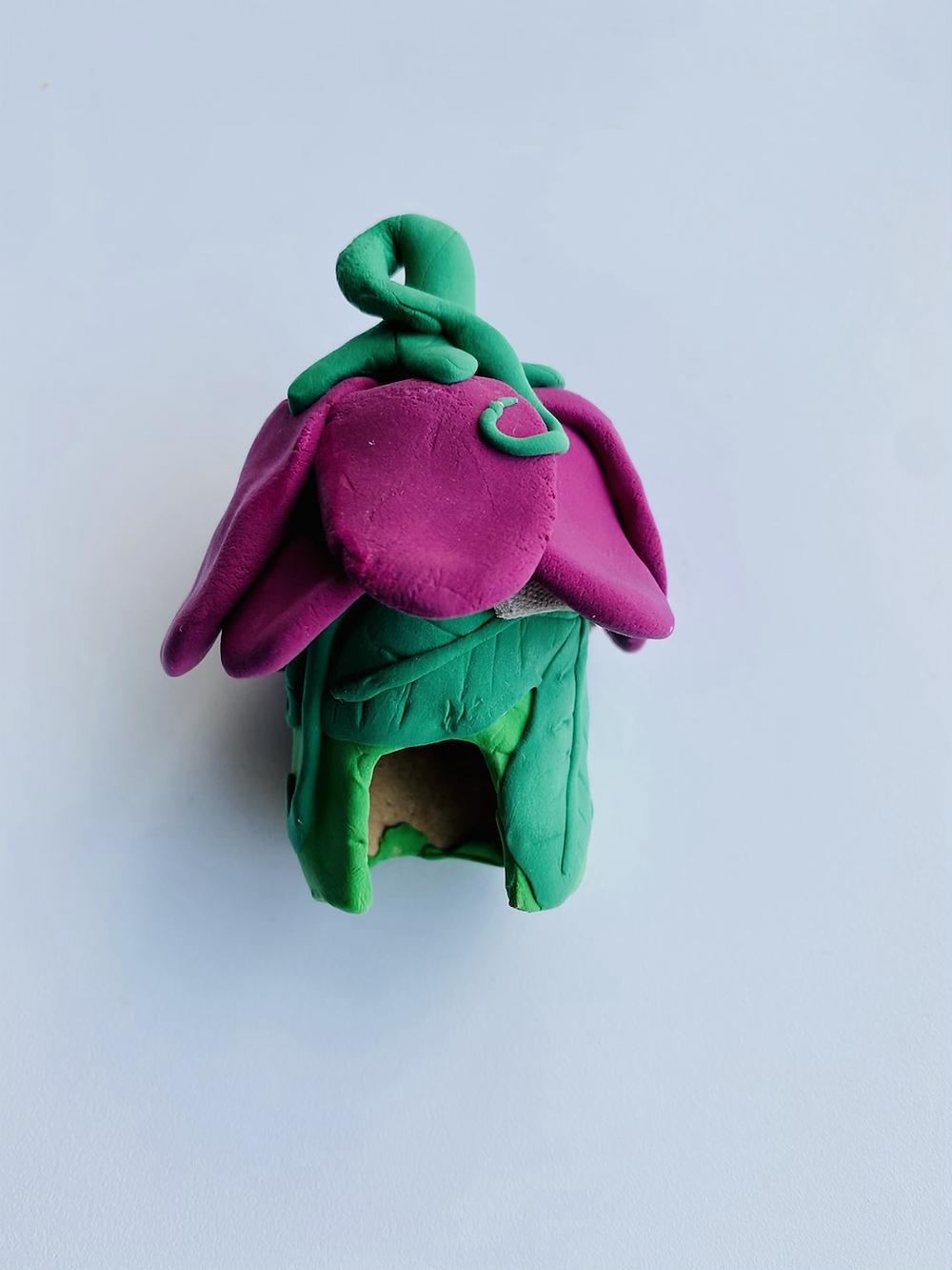 Flower fairy house craft for kids