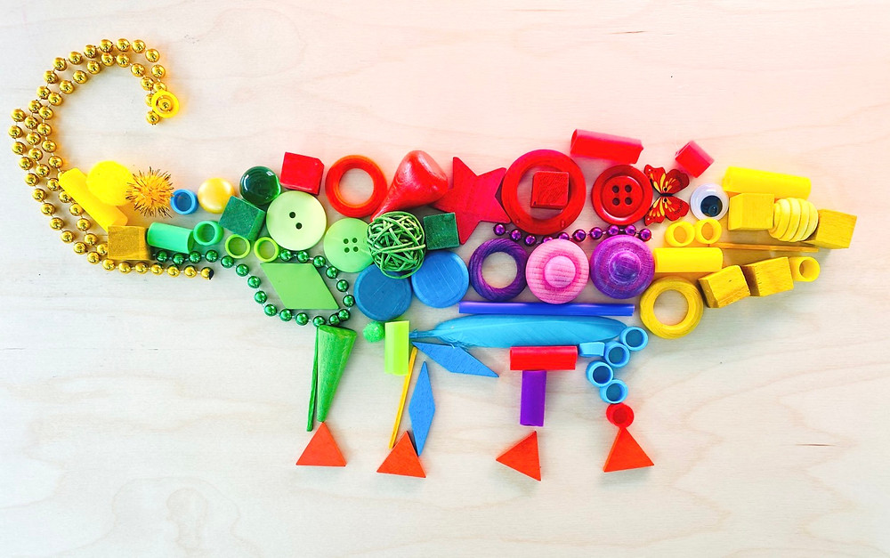 Loose parts and kids books