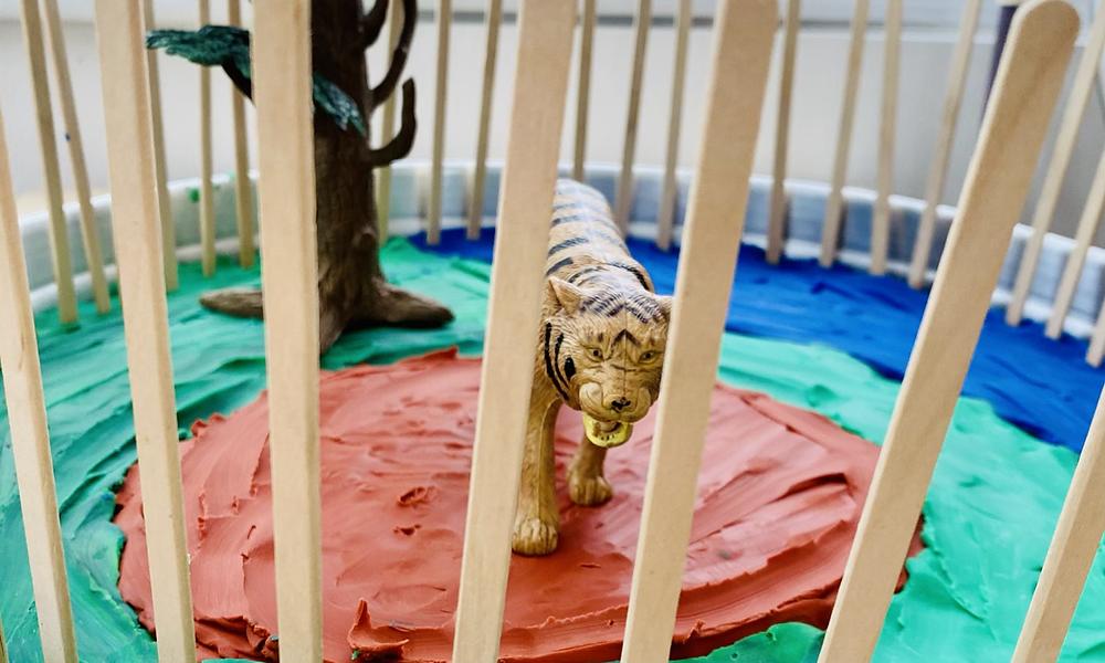 Invitation to make a zoo