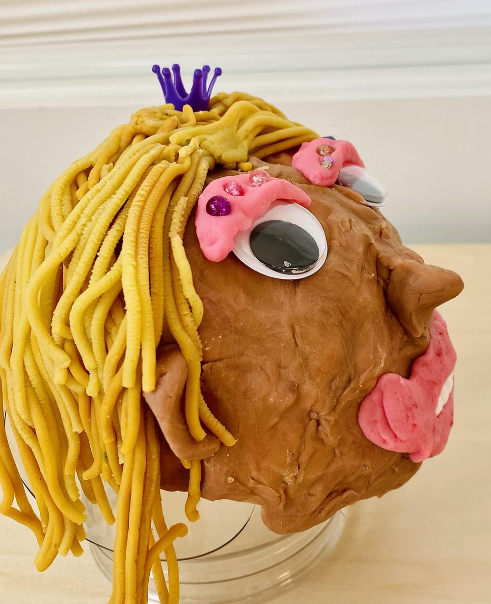Playdoh head