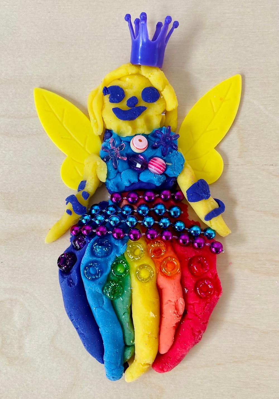 Playdoh fairy