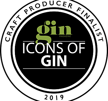 DARTMOUTH DISTILLERY Co HAS BEEN SHORT-LISTED FOR THE GIN MAGAZINE 'ICONS OF 2019' AWARDS