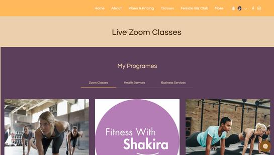 Fitness with Shakira