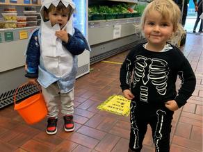 Halloween trail a success!