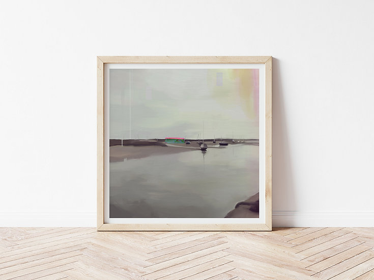 Cley // Signed Glicée Print // Limited Edition of 100