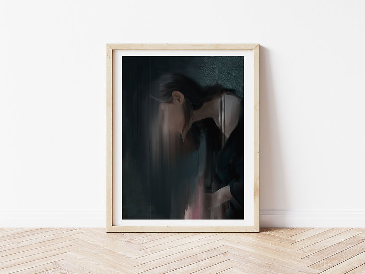 Dark Matter // Signed Glicée Print // Limited Edition of 100