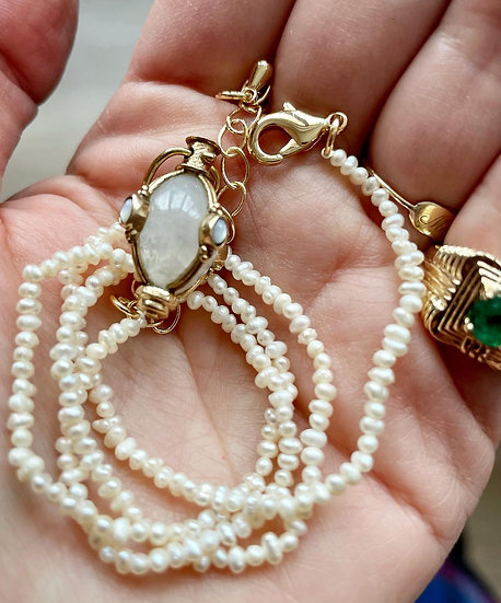 Collier MOTHER OF PEARL ♡