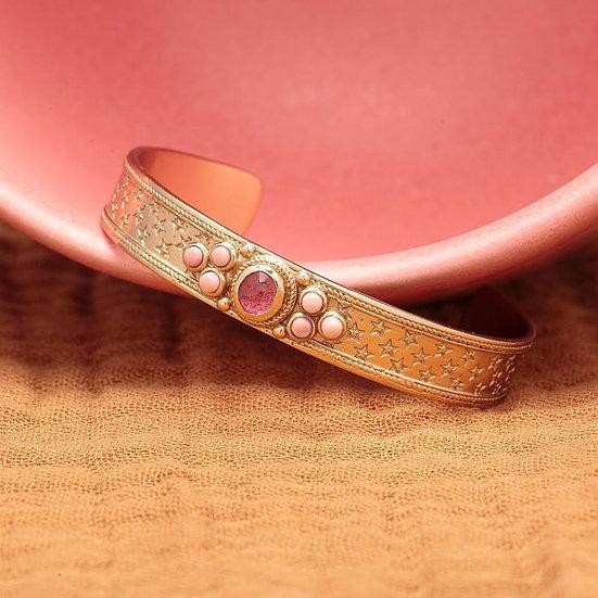 Bracelet SENSI ♡ tourmaline ♡ opale