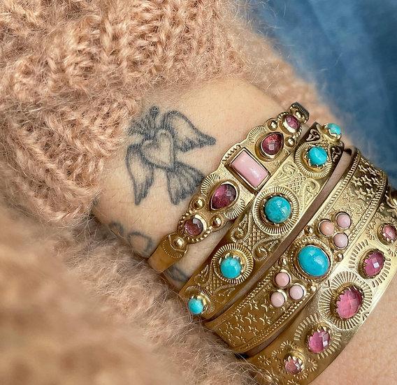 Bracelet MEERA ♡ turquoise