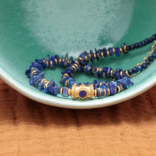 Collier PABLO ♡ lapis lazuli
