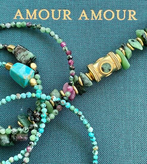 Bracelet SIMON ♡ turquoise