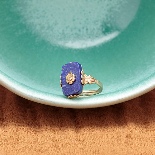 Bague CLARA ♡ lapis lazuli