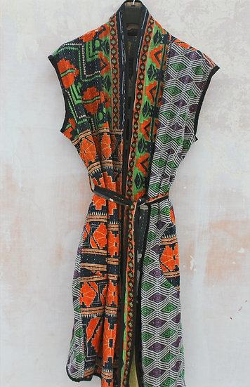 Manteau kantha vintage ♡ patchwork