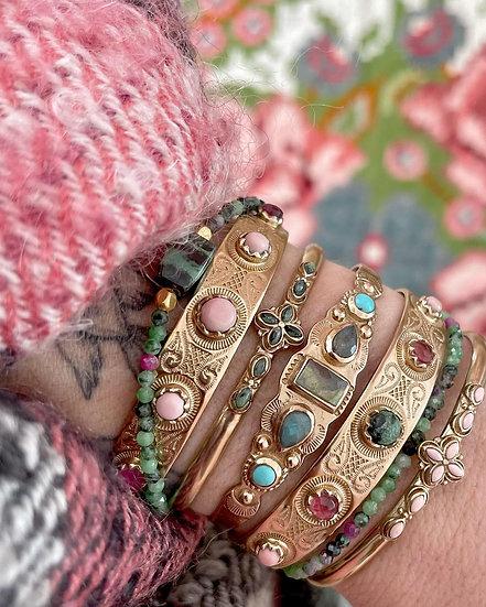 Bracelet IREN ♡ labradorite ♡ turquoise