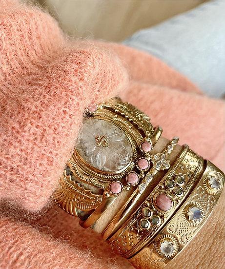 Bracelet SENSI ♡ rhodonite ♡ labradorite