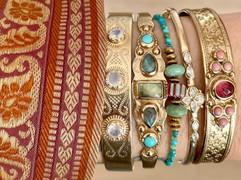 accumulation bracelets l'atelier plume