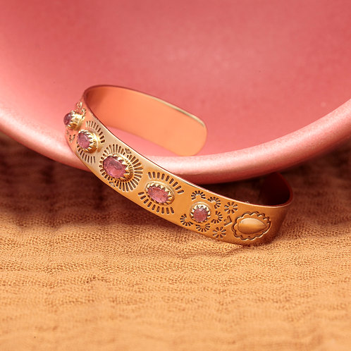Bracelet SUZETTE ♡ tourmaline