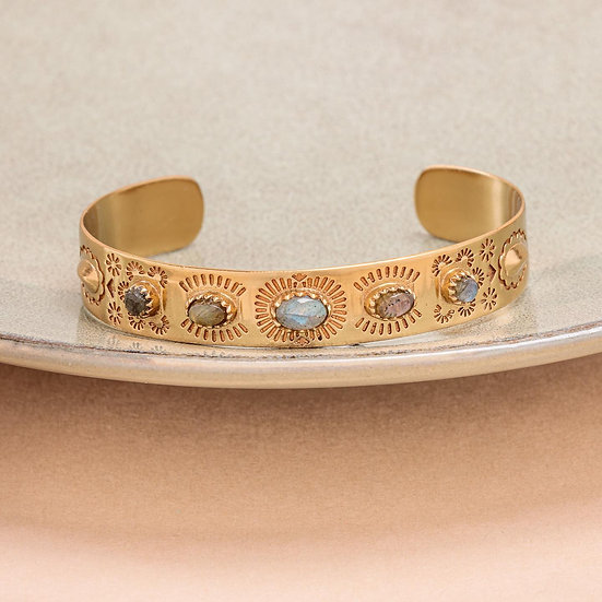 Bracelet SUZETTE ♡ labradorite