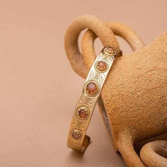 Bracelet MEERA ♡ pierre du soleil