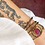 Thumbnail: Bracelet FLORA ♡ corail
