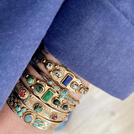 Bracelet FLORA ♡ turquoise