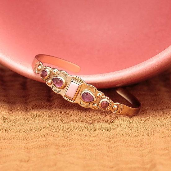 Bracelet IREN ♡ opale ♡ tourmaline