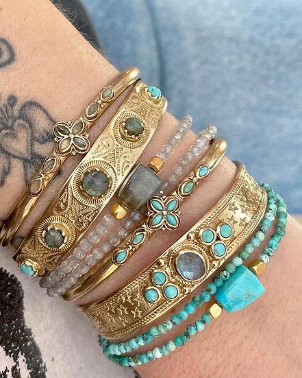 Bracelet SIMON ♡ labradorite