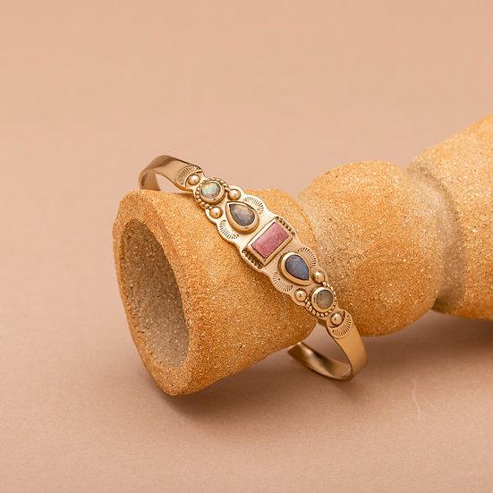 Bracelet IREN ♡ rhodonite ♡ labradorite