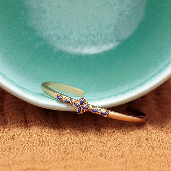 Bracelet FLORA ♡ lapis lazuli