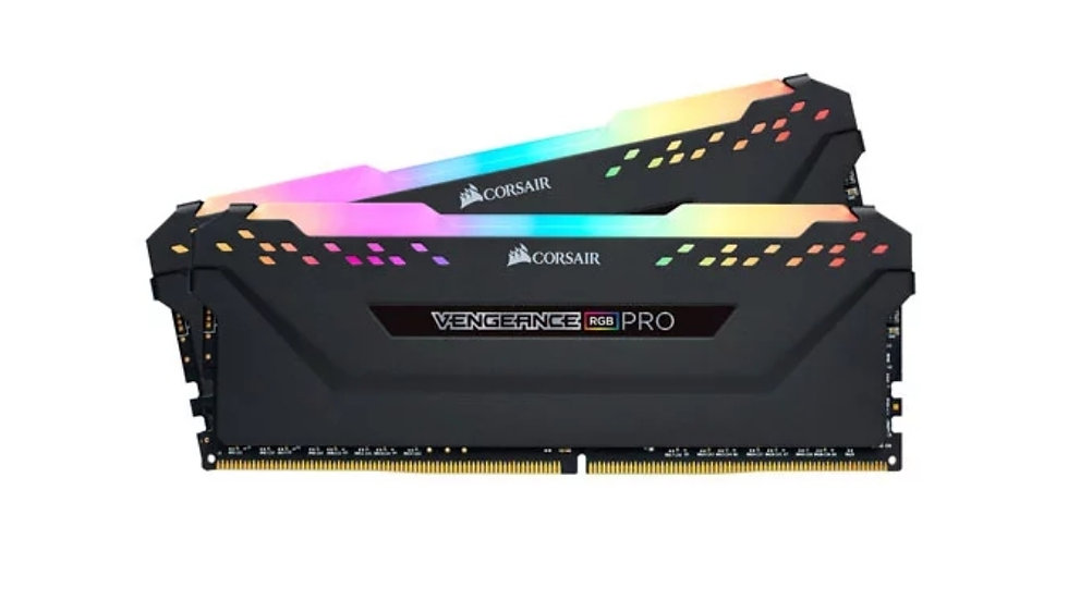 Corsair Vengeance RGB PRO Black 16GB 3000 MHz DDR4 Dual Channel Memory Kit