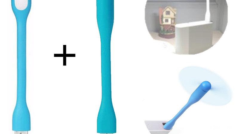 Creative USB Fan Flexible Portable