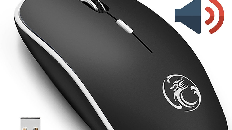 iMice Wireless Mouse Silent Computer Mouse 1600 DPI
