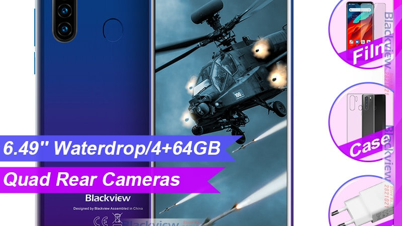 Blackview A80 Pro 6.49'' Waterdrop 4GB + 64GB